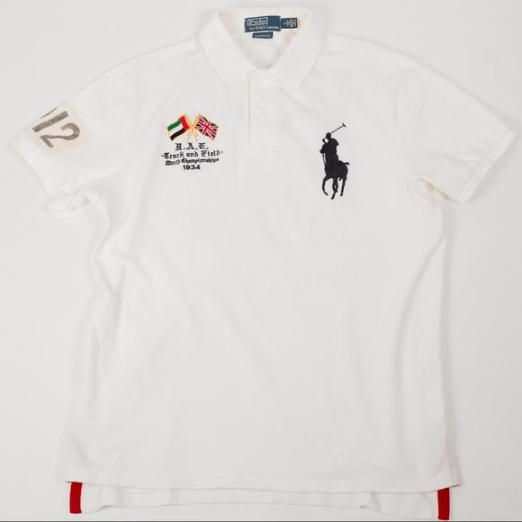 4685f7e5 Ralph Lauren Polo Track & Field 1934 UAE Size L. M_5b776b586a0bb72b6f78e6e1